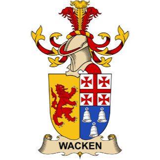 Wacken Family Crest