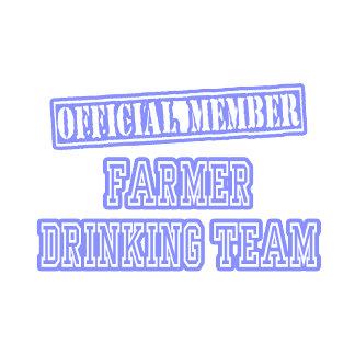 Farmer Drinking Team