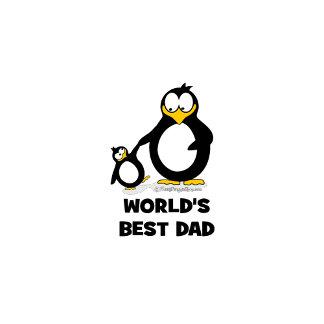 World's Best Dad Penguin