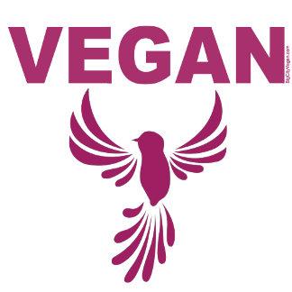 Vegans Take Flight - Bird Design