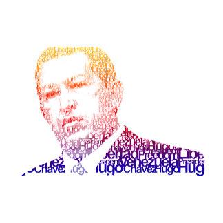 Hugo Chavez - Hugo in Words style