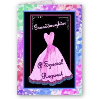 GRANDDAUGHTER Bridesmaid