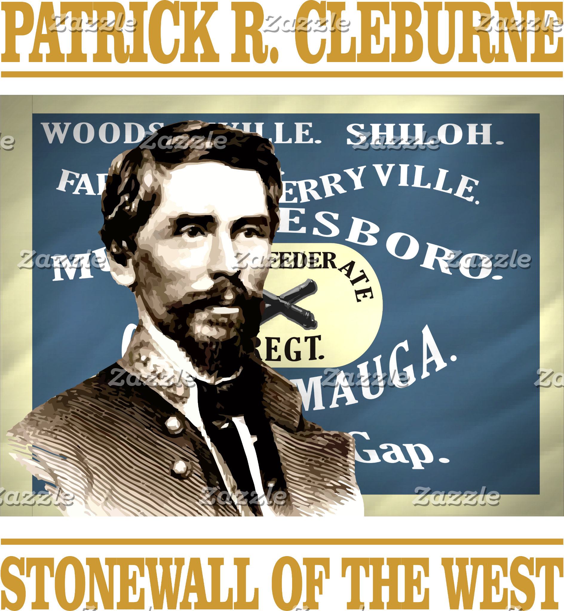 Patrick R Cleburne -Stonewall of the West