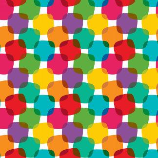 Colorful Abstract Rainbow Circles