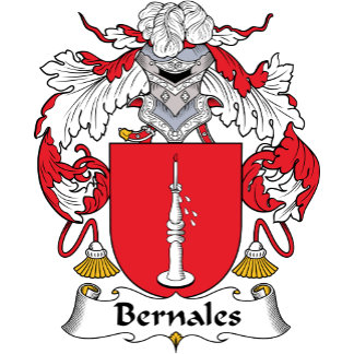 Bernales Family Crest