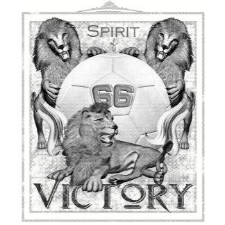 Spirit of 66 Three Lions - Black & White Version