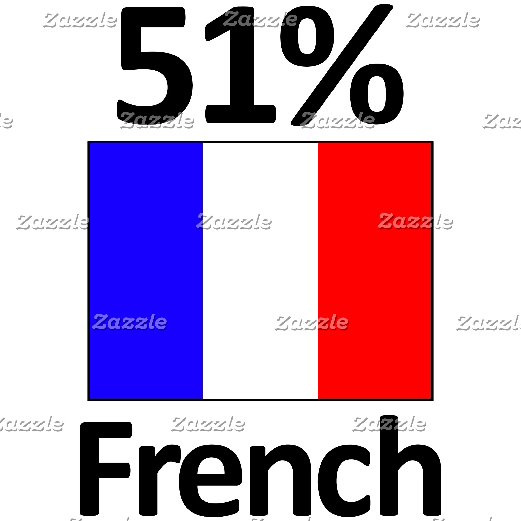 51% French