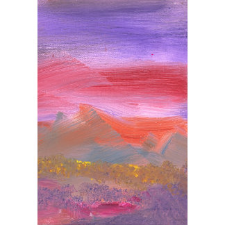 Abstract - Guash - Lovely meadows 1 of 2