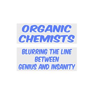 Organic Chemist Joke .. Genius and Insanity