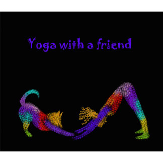 Yoga with a friend