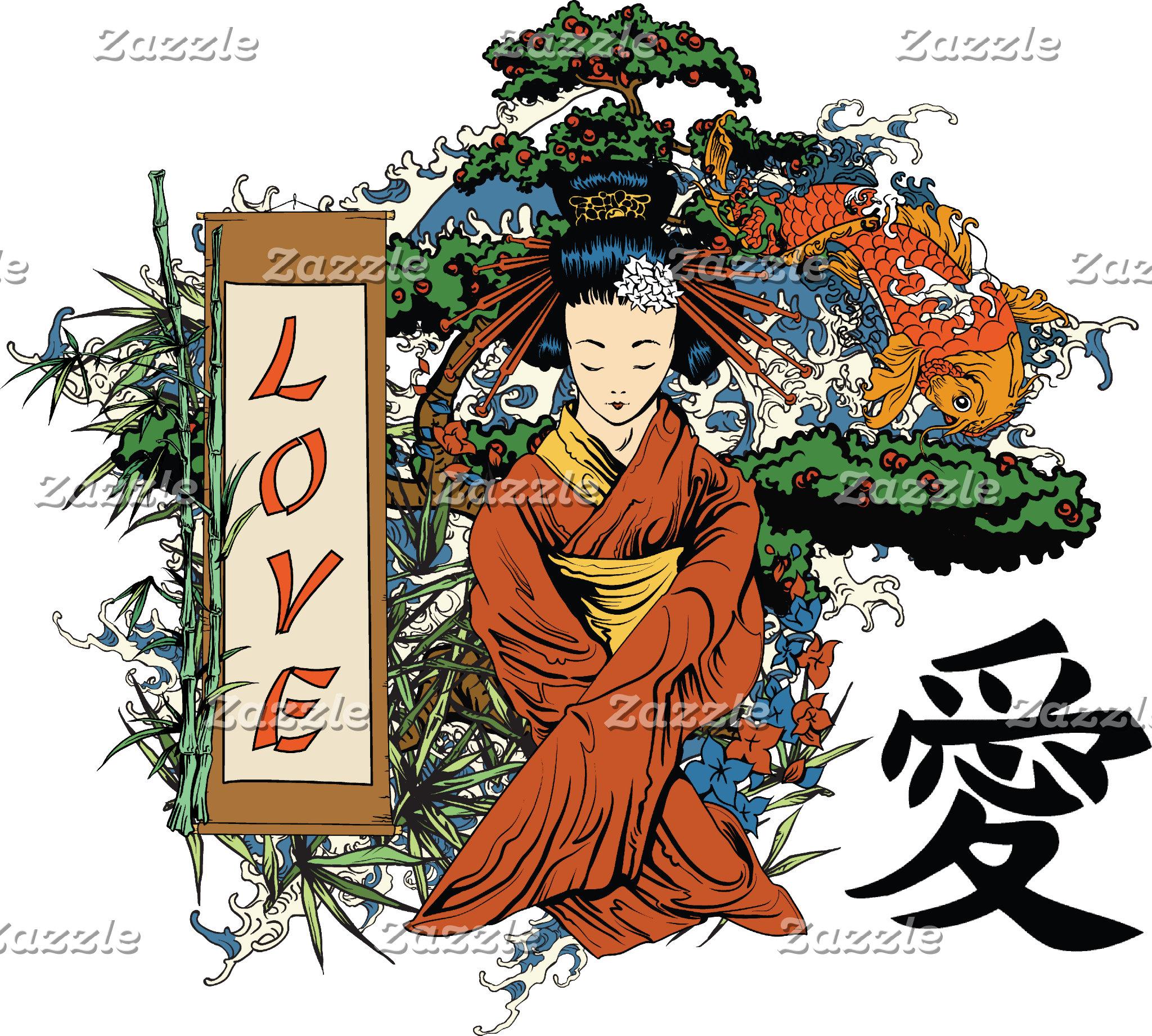 Japan Asia Character