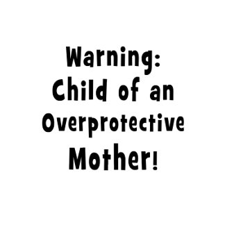 child of overprotective mother black