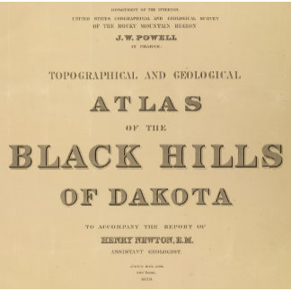 Title Page Topographical and geological atlas
