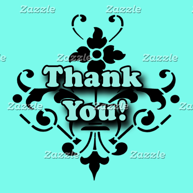 Thank You Stickers for Thank You cards and notes