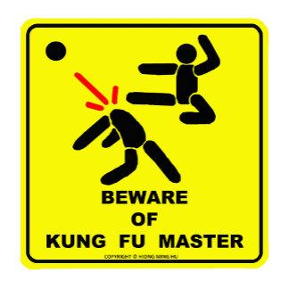 Beware of Kung Fu Master