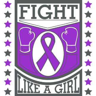 Epilepsy Fight Like A Girl Banner