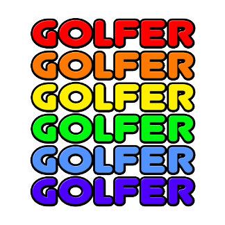 Rainbow Golfer