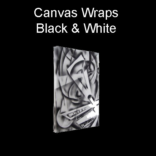 Wraps - Black and White