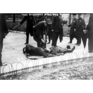 Casualties 20 Seconds after Anarchist Bomb