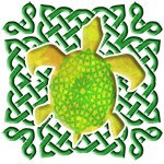 Celtic Knot Turtle (Green)