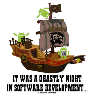 It Was A Ghastly Night In Software Development