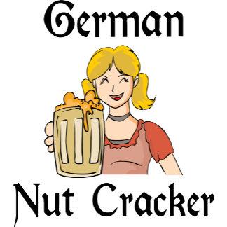 Funny Geman Nut Cracker Women's T-Shirts