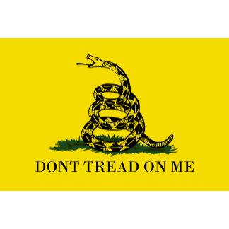 DONT TREAD ON ME Gadsden Flag