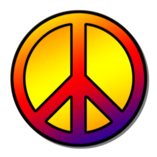 60's Clean Peace Sign -