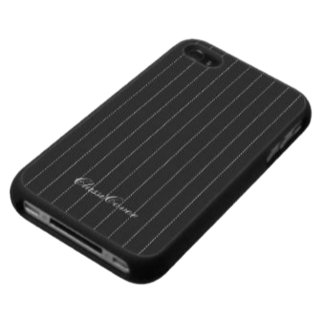 Pinstripes Pattern iPhone 4/4S Case Covers