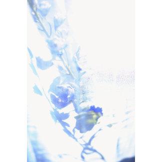 """Blue Flower Photo Poster Print"""