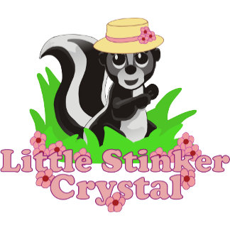 Little Stinker Crystal Personalized