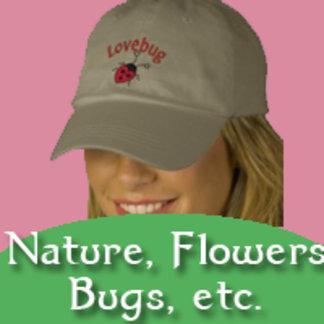 NATURE, FLOWERS, BUGS, SUNSHINE
