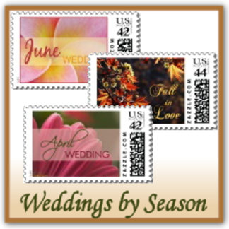 Wedding Stamps by Season