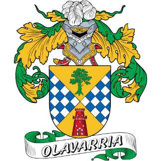 Olavarria Family Crest