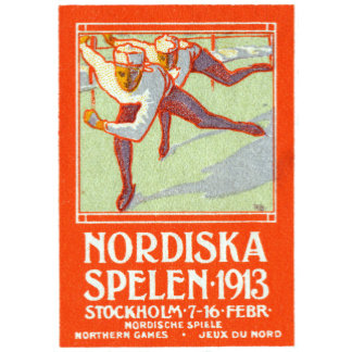 1913 Northern Games Poster