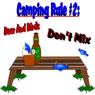 Camping Rule #2 (Blue Birds)