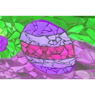 purple pink green mosiac pattern design pattern