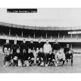 All Star Football Team Photograph