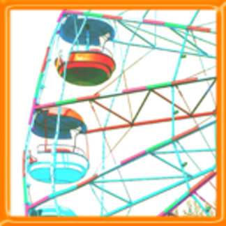 Colorful Ferris Wheel Design