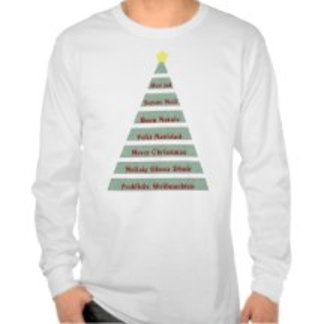 Christmas and New Year's T-shirts