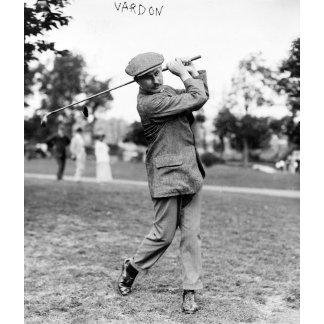 Champion Golfer Harry Vardon