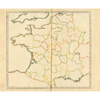 France Subdivisions Outline
