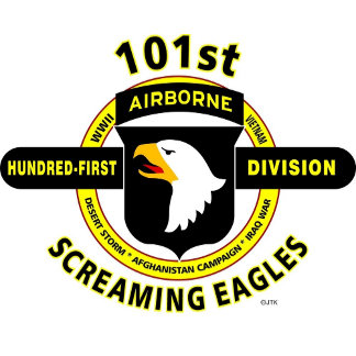 "101ST AIRBORNE DIVISION""SCREAMING EAGLES"""