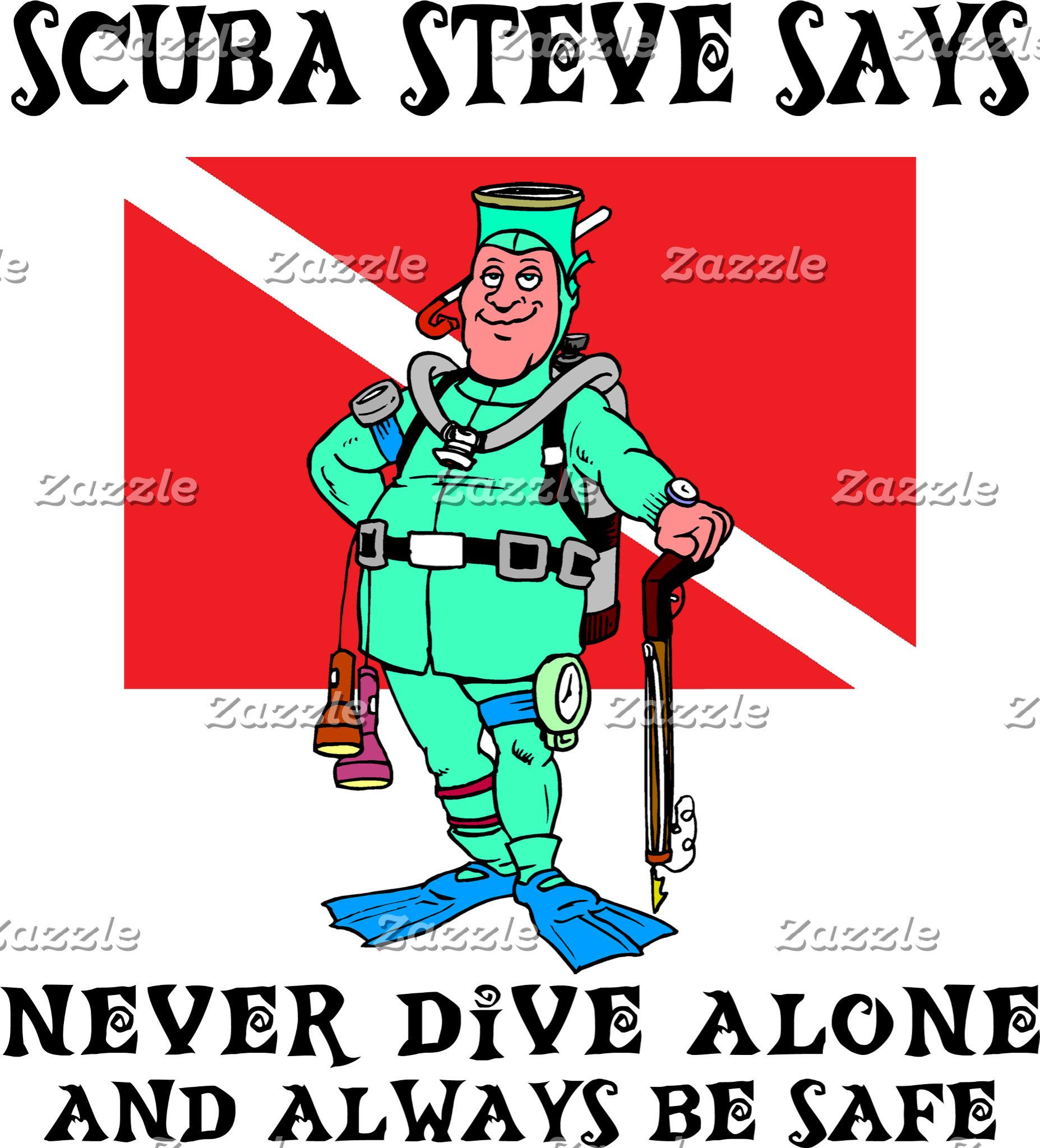 SCUBA Steve T-Shirt Gift Cards