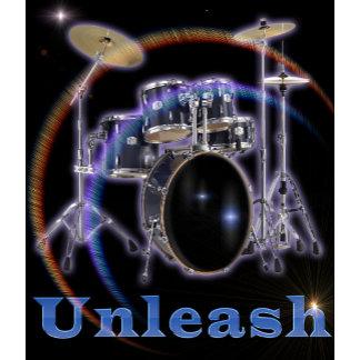unlease yourself Drum set