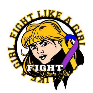 Bladder Cancer Fight Like A Girl Attitude