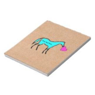 Horse Memo Pads