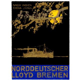 1920 Ocean Liner Poster