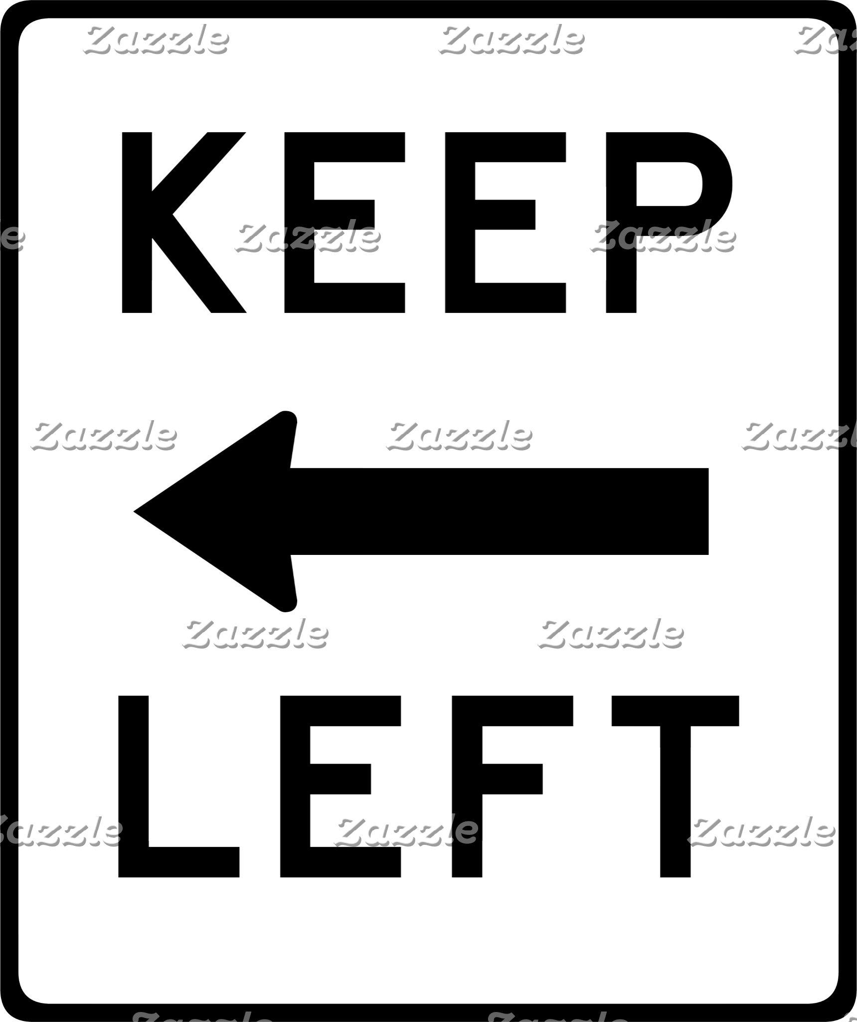 Democratic Road Signs