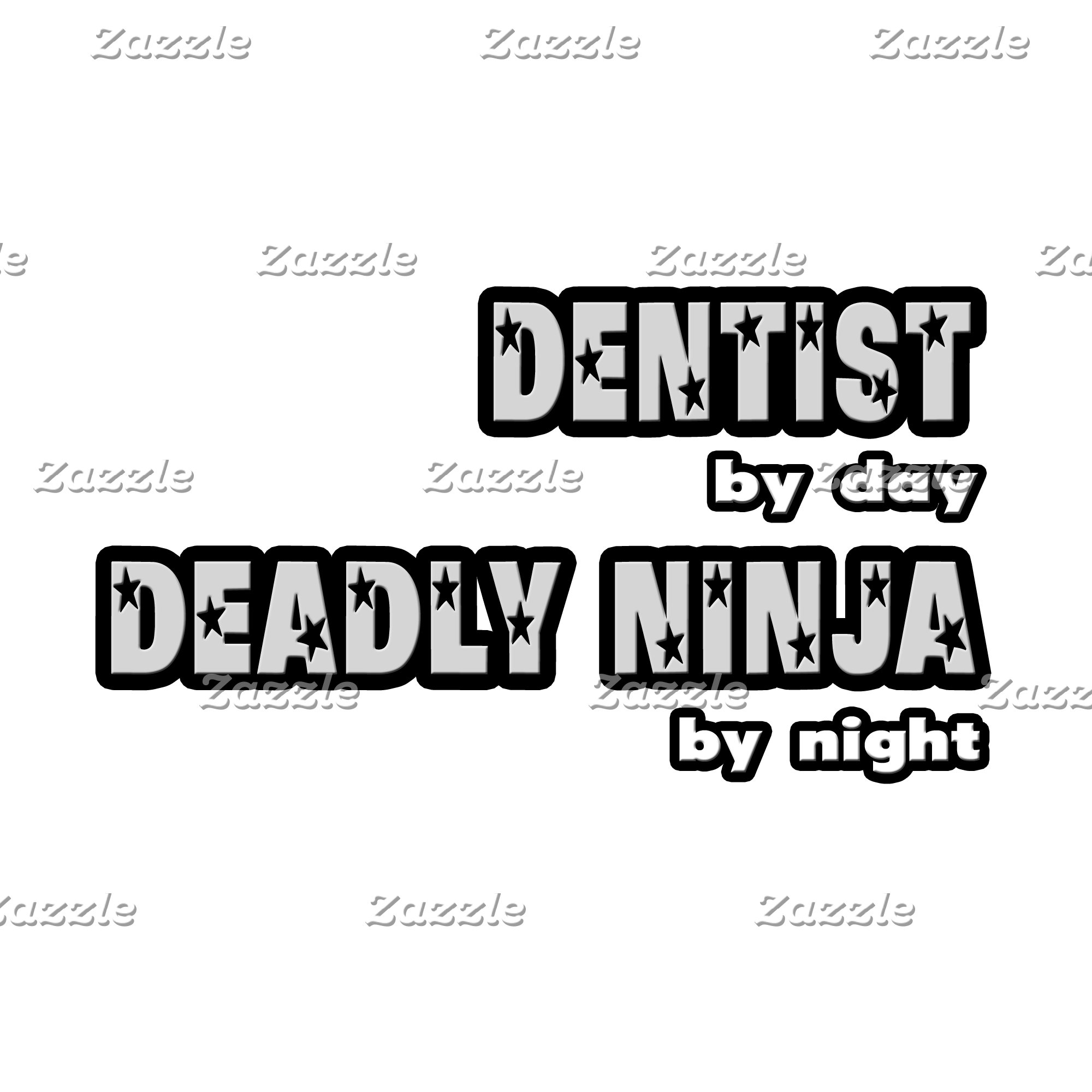 Dentist By Day...Deadly Ninja By Night